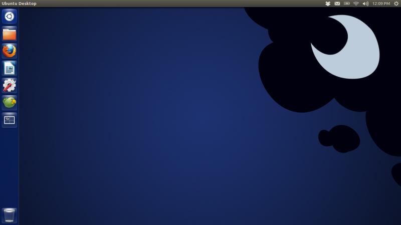 Luna desktop (ubuntu linux)