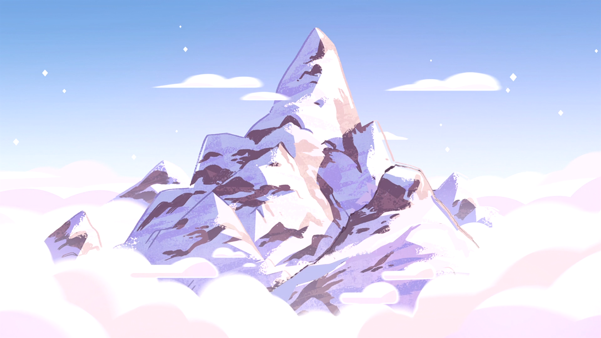 Top Wallpaper Mountain Aesthetic - steven-universe-mountain  Graphic_646882.png