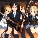 k-on cast in club room