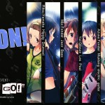 k-on let's go 2009 live event poster